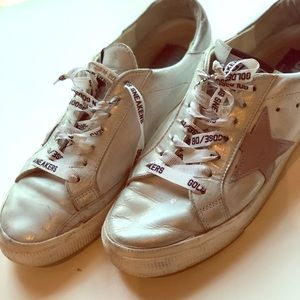 Golden Goose Sneakers Silver Size 40 9 or 10